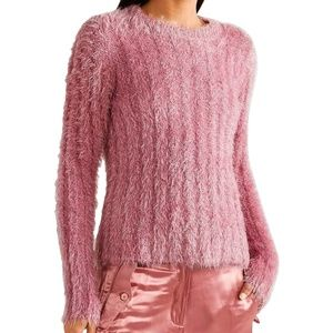 NWT SIES MARJAN Sparkle Crew Sweater
